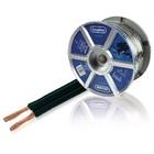 Lautsprecherkabel auf Rolle 2x 2.50 mm² 100 m Schwarz