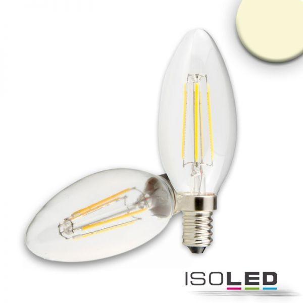 E14 LED Kerze, 4W, klar, warmweiß
