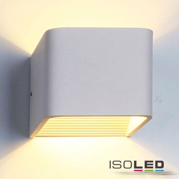LED Wandleuchte Up&Down 100, 6W, weiß, warmweiß