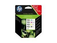 TIN HP # 920XL XL Pack BK|C|M|Y