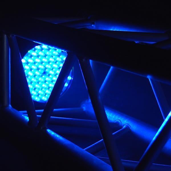 Cameo FLAT PAR RGB 10 IR WH - 144 x 10 mm FLAT LED RGB PAR Scheinwerfer Spot in weißem Gehäuse mit I