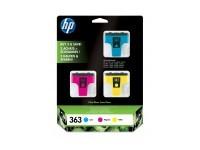 TIN HP # 363 CB333EE color 3er Pack