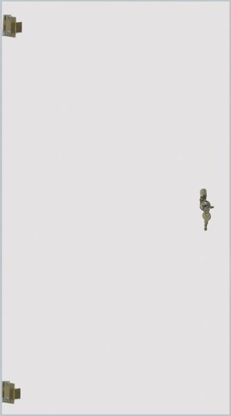 StahlRack 18HE Pliexiglas-Türe mit Schluss