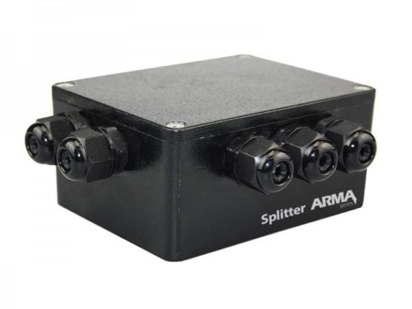 SUNDRAX DMX Splitters Splitter ARMA 1 DMX input/5 DMX outputs