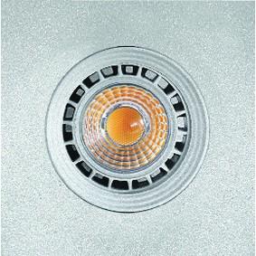 Einbauleuchte GU10 / MR16 Grau