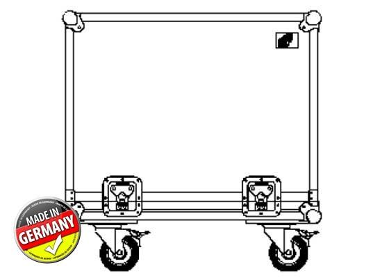 Case für 2x Acoustic Line TSM 8