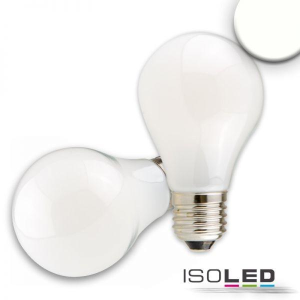 E27 LED Birne, 7W, milky, neutralweiß