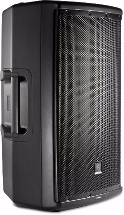 JBL EON 615 Aktivbox, schw., 15''/1''Neodym, 1000W, 90°x60°, 2-Kanal Mixer, 36mm Flansch, Multifunkt