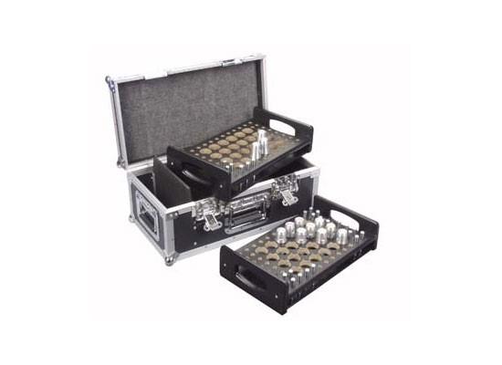Case für 48x Konusverbinder, 2x Einsatz für 24 Verbinder