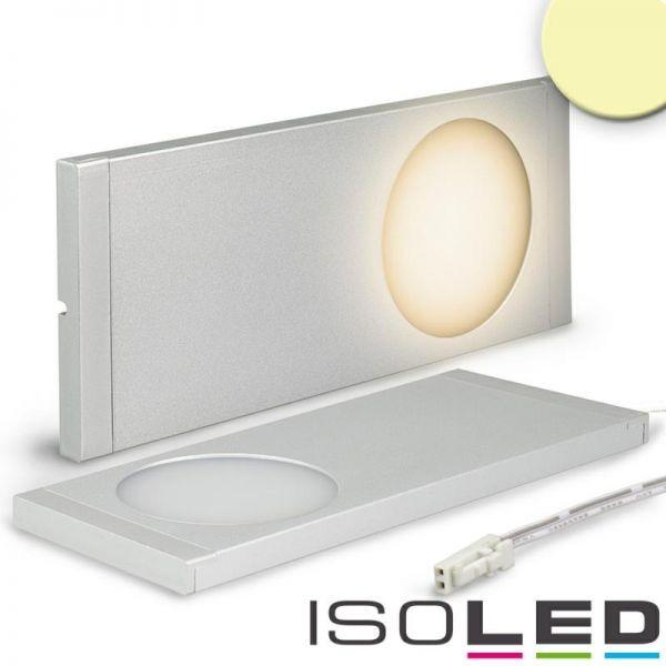Sys-Slim LED Unterbauleuchte silber, superflach, 6W, 12V DC, warmweiß