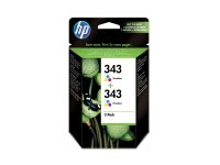 TIN HP # 343 CB332EE color 2x