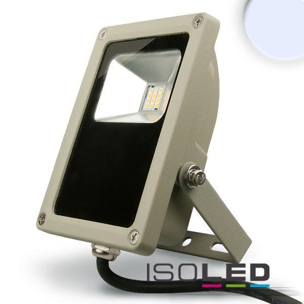 LED Fluter 15W, kaltweiß, silber matt